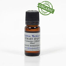 Rosemary Spanish Organic Essential Oil - 100% Pure - 10ml (CO10ROSESPAN)