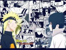 "Sasuke and Naruto Wallposter  20X30"" inch (Gloss) Large - FAST SHIPPING -225"