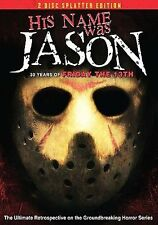 His Name Was Jason: 30 Years of Friday the 13th [2 Discs] [Sp DVD Region 1, NTSC