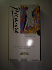 K7 VIDEO VHS PICASSO LES COULEURS DE LA PASSION D'ALAIN JAUBERT