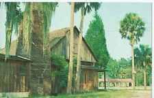 FL,  DeLeon Springs,  Old Sugar Mill, Now Grill & Griddle Restaurant- Postcard