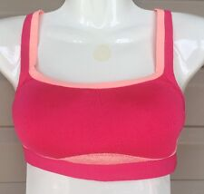 JOSIE AMP'D SPORTS CAMI HIGH IMPACT PADDED BRA #839170 PINK SZ 32 B / C NEW $50