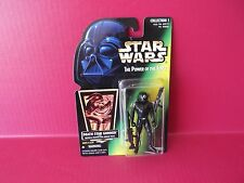 """Star Wars Power of the Force Death Star Gunner 4""""in Figure  Kenner 1996 Hasbro"""