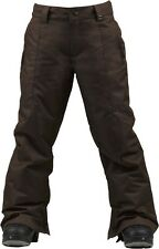 Burton Boys Cyclops Snowboard Pants (M) Grizzly
