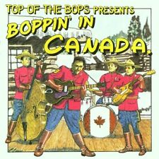 BOPPIN' IN CANADA CD Canadian Rare Rockabilly CD 24 tracks Ray Condo