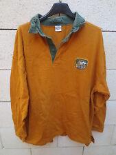 VINTAGE Maillot rugby AUSTRALIE shirt AUSTRALIA coton shirt années 80 maglia XL
