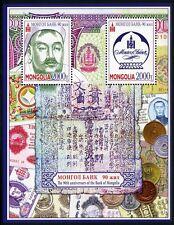 Mongolei Mongolia 2014 Bank Dschingis Khan Münzen Banknoten Coins Paper Money **