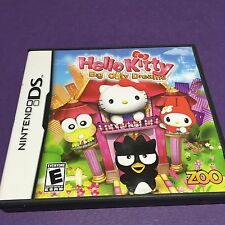 Nintendo DS Hello Kitty Big City Dreams, Zoo USED Game