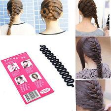 Hot Styling Hair Styling Clip Stick Bun Maker Braid Salon Tool Hair Accessory HY