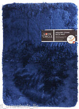 "Home Circle Soft Top Memory Foam Bath Kitchen Mat 17x24"" - Sudden Sapphire - NEW"