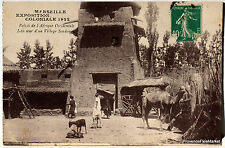 CPA POSTCARD MARSELLE EXPOSITION SOUDAN   225Aa229
