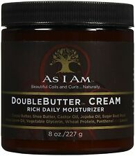 As I Am Double Butter Cream Rich Daily Moisturizer 8oz/227g