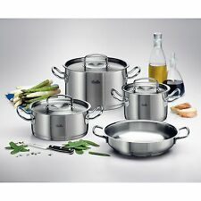 FISSLER Topf-Set Original-Profi Collection 4 teilig mit Servierpfanne