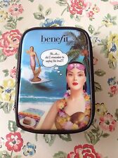 ⭐️BENEFIT⭐️Cosmetic Makeup Gabbi Bag⭐️Hawaii Catalog⭐️