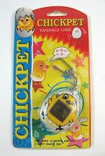 New Rare 1997 CHICK PET Virtual Hand Held Game Chicken Keychain Vtg Toy NIP