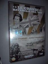 DVD N° 21 LE GRANDI BATTAGLIE DEL 900 PORT STANLEY ISOLE FALKLAND RIVINCITA