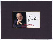 JOHN WILLIAMS STAR WARS Soundtrack Composer  Hand Signed Mount Display Rare Item