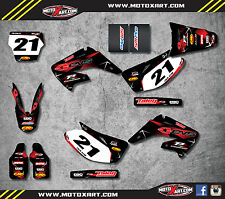 Honda CR 125 - 2006 - 2012 Full  Custom Graphic  Kit - BARBED STYLE decals