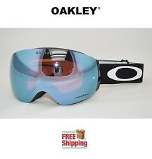 OAKLEY® FLIGHT DECK™ XM PRIZM™ SNOW BOARD SKI GOGGLE MATTE BLACK W/ SAPPHIRE NEW