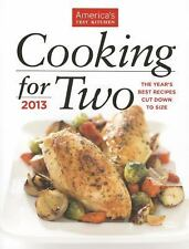 Cooking for Two 2013 ~ Editors at America's Test Kitchen HC