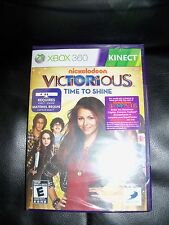 Victorious: Time to Shine  (Microsoft Xbox 360, 2011) NEW