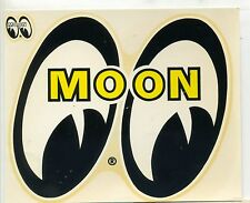 vtg MOON eyes equipped water slide decal hot rod drag race bonneville socal