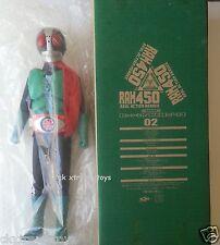 Masked Kamen Rider No.2 V2 Real Action Heroes RAH 450 Action Figure Medicom 02