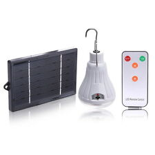 Outdoor/Indoor 20LED Shed Solar Lamp Hooking Camp Garden Lighting Remote Control