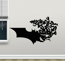Batman Logo Wall Decal Bat Comics Superheroes Vinyl Sticker Art Decor Mural 4zzz