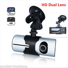 "Dual Len Cam Full HD 1080P 2.7"" LCD Car DVR Video Camera Recorder Dash Cam"