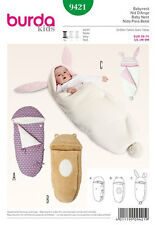 SEWING PATTERN! MAKE BABY BUNTING~SWADDLING BLANKET~NEST~COVER!  BUNNY~BEAR!