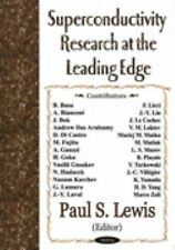 Superconductivity Research at the Leading Edge (2003, Hardcover)