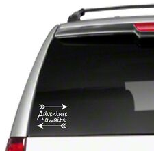 "Adventure Awaits Arrows 6"" Car Vinyl Sticker Decal hippie vintage spirit *G13*"