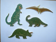 SALE RARE VINTAGE DINOSAURS JURASSIC PARK WORLD FILM MOVIE PIN BADGE SET JOB LOT
