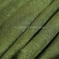 New Soft Textured Boucle Weave Green Chenille Furnishing Upholstery Fabric