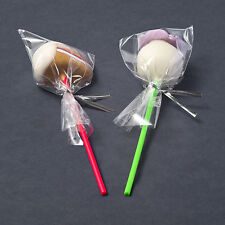 "50 x 3"" x 5"" Clear Cello Poly Display Bags Lollipops Sweets Cake Pops Cellophane"