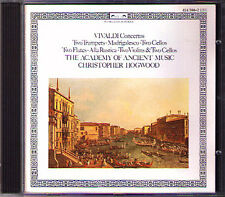 VIVALDI Double Concerto Trumpet Cello Flute Violin Cello CHRISTOPHER HOGWOOD CD