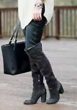 $288 Dolce Vita 'Ohanna' Over The Knee Boots Dark Gray Sold Out ~Size 8
