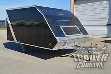 NEW 2016 8.5x12 8.5 x 12 Aluminum Polar Sport Enclosed ATV Snowmobile Trailer