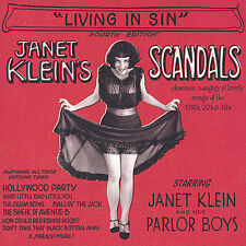 Living in Sin by Janet Klein (CD, Aug-2004, CD Baby (distributor))