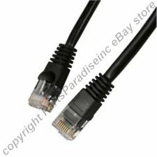 Lot40 5ft RJ45 Cat5e Ethernet Cable/Cord/Wire {BLACK {F