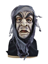 #ZOMBIE ADULT FULL FACE MASK HALLOWEEN HORROR FANCY DRESS OUTFIT ACCESSORY
