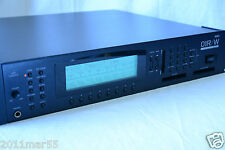 Korg 01R/W rack-mount module of 01/W new internal battery and backlight!