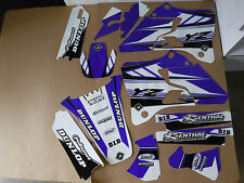 FLU  PTS3 TEAM  GRAPHICS   YAMAHA YZ125 YZ250 1996 1997 1998 1999 2000 2001