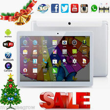"10.1"" 16GB WiFi 3G Dual SIM Phablet Smartphone Android Quad-Core Tablet PC GPS"