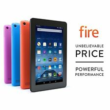 Brand New Amazon Kindle Fire 7 8gb, Wi-Fi Tablet-NERO ULTIMO MODELLO 5th generazione
