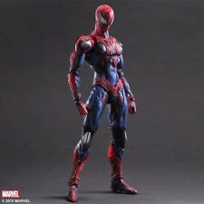26CM MARVEL HERO AVENGERS PLAY ARTS KAI SPIDER MAN ACTION FIGURE TOY GIFTS