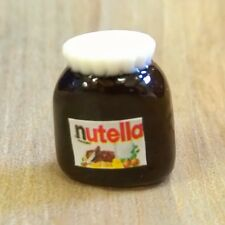 Doll House 12th Scale : Chocolate Spread Jar - Nutella Christmas treat
