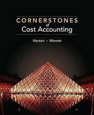 Cornerstones of Cost Management by Don Hansen