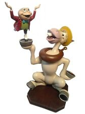 Disney Parks Mr. Toad and Cyril Wild Ride Attraction Medium Figure Figurine